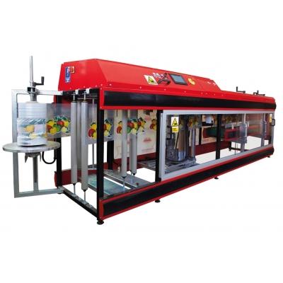 Машина для упаковки яблок и фруктов в пакеты SNW-1