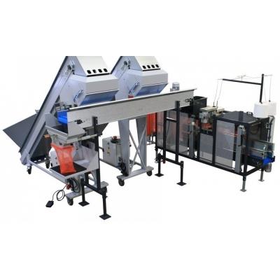 Автоматический комплекс для фасовки в сетку до 9 тонн в час