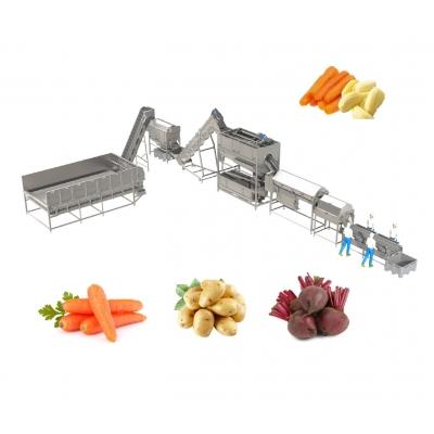 Линия для переработки овощей